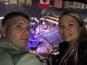 Chase attended Carrie Underwood: the Cry Pretty Tour 360 on Oct 24th 2019 via VetTix