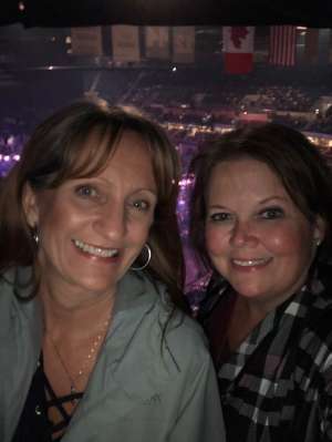 Andrea attended Carrie Underwood: the Cry Pretty Tour 360 on Oct 24th 2019 via VetTix