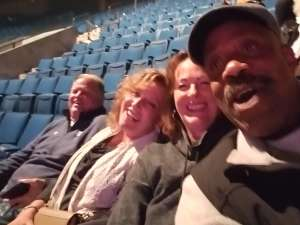 Walter attended Carrie Underwood: the Cry Pretty Tour 360 on Oct 24th 2019 via VetTix