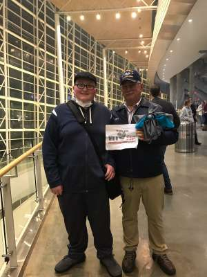 Chief Beach attended Carrie Underwood: the Cry Pretty Tour 360 on Oct 24th 2019 via VetTix