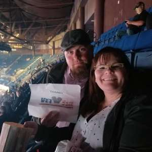 WILLIAM attended Carrie Underwood: the Cry Pretty Tour 360 on Oct 24th 2019 via VetTix
