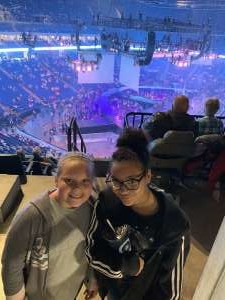 Lee attended Carrie Underwood: the Cry Pretty Tour 360 on Oct 24th 2019 via VetTix