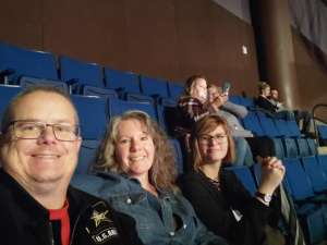 gregory attended Carrie Underwood: the Cry Pretty Tour 360 on Oct 24th 2019 via VetTix