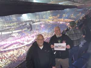 Matthew attended Carrie Underwood: the Cry Pretty Tour 360 on Oct 24th 2019 via VetTix