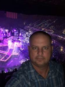 John/Leticia attended Carrie Underwood: the Cry Pretty Tour 360 on Oct 24th 2019 via VetTix