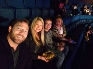 Billy attended Carrie Underwood: the Cry Pretty Tour 360 on Oct 24th 2019 via VetTix