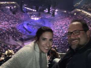 Carter attended Carrie Underwood: the Cry Pretty Tour 360 on Oct 24th 2019 via VetTix