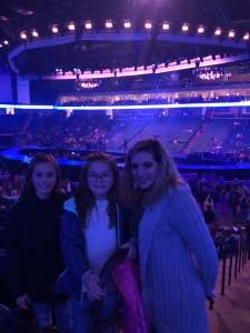 David attended Carrie Underwood: the Cry Pretty Tour 360 on Oct 24th 2019 via VetTix