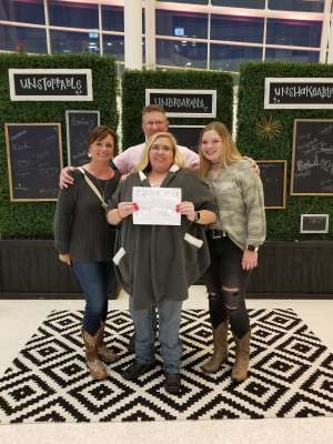 Brian attended Carrie Underwood: the Cry Pretty Tour 360 on Oct 24th 2019 via VetTix