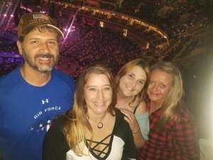 Shannon attended Carrie Underwood: the Cry Pretty Tour 360 on Oct 24th 2019 via VetTix