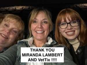 Phillip attended Miranda Lambert: Roadside Bars and Pink Guitars Tour on Nov 7th 2019 via VetTix