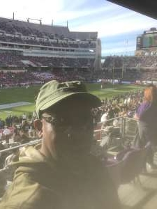 Tommy attended 2020 Armed Forces Bowl: Tulane Green Wave vs. Southern Miss Golden Eagles on Jan 4th 2020 via VetTix