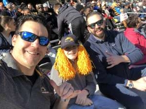 Joshua attended 2020 Armed Forces Bowl: Tulane Green Wave vs. Southern Miss Golden Eagles on Jan 4th 2020 via VetTix