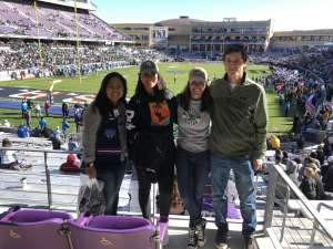 Rachelle attended 2020 Armed Forces Bowl: Tulane Green Wave vs. Southern Miss Golden Eagles on Jan 4th 2020 via VetTix