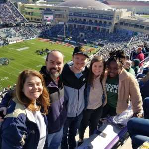 John Weidman attended 2020 Armed Forces Bowl: Tulane Green Wave vs. Southern Miss Golden Eagles on Jan 4th 2020 via VetTix