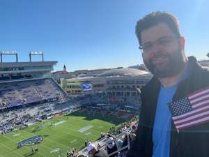 Brian attended 2020 Armed Forces Bowl: Tulane Green Wave vs. Southern Miss Golden Eagles on Jan 4th 2020 via VetTix