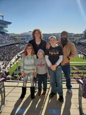 Renee attended 2020 Armed Forces Bowl: Tulane Green Wave vs. Southern Miss Golden Eagles on Jan 4th 2020 via VetTix