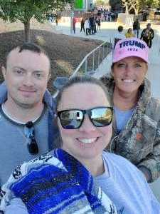 Kristin attended 2020 Armed Forces Bowl: Tulane Green Wave vs. Southern Miss Golden Eagles on Jan 4th 2020 via VetTix