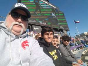 Monk attended 2020 Armed Forces Bowl: Tulane Green Wave vs. Southern Miss Golden Eagles on Jan 4th 2020 via VetTix