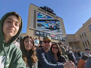 Maria attended 2020 Armed Forces Bowl: Tulane Green Wave vs. Southern Miss Golden Eagles on Jan 4th 2020 via VetTix