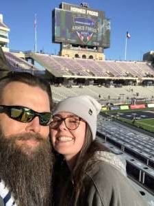 Randy attended 2020 Armed Forces Bowl: Tulane Green Wave vs. Southern Miss Golden Eagles on Jan 4th 2020 via VetTix