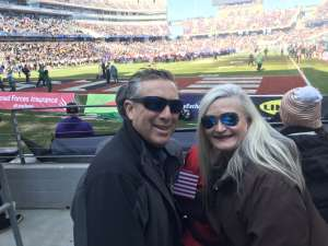 Robert attended 2020 Armed Forces Bowl: Tulane Green Wave vs. Southern Miss Golden Eagles on Jan 4th 2020 via VetTix