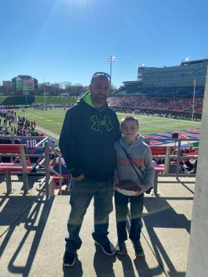 kenneth attended 2019 First Responder Bowl: Western Kentucky Hilltoppers vs. Western Michigan Broncos on Dec 30th 2019 via VetTix