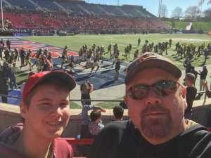 Daniel attended 2019 First Responder Bowl: Western Kentucky Hilltoppers vs. Western Michigan Broncos on Dec 30th 2019 via VetTix