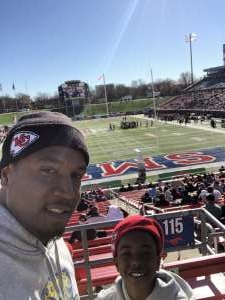 Corey attended 2019 First Responder Bowl: Western Kentucky Hilltoppers vs. Western Michigan Broncos on Dec 30th 2019 via VetTix