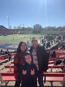 Bedalina attended 2019 First Responder Bowl: Western Kentucky Hilltoppers vs. Western Michigan Broncos on Dec 30th 2019 via VetTix