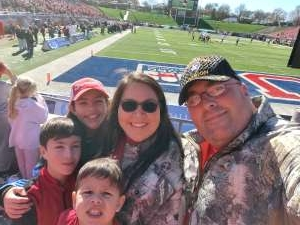 Jeremy attended 2019 First Responder Bowl: Western Kentucky Hilltoppers vs. Western Michigan Broncos on Dec 30th 2019 via VetTix