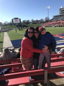 Charlotte attended 2019 First Responder Bowl: Western Kentucky Hilltoppers vs. Western Michigan Broncos on Dec 30th 2019 via VetTix