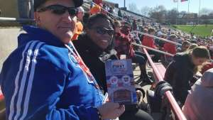 Stephanie attended 2019 First Responder Bowl: Western Kentucky Hilltoppers vs. Western Michigan Broncos on Dec 30th 2019 via VetTix