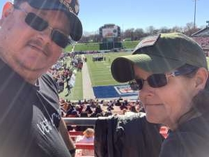 David attended 2019 First Responder Bowl: Western Kentucky Hilltoppers vs. Western Michigan Broncos on Dec 30th 2019 via VetTix