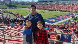 Jerry attended 2019 First Responder Bowl: Western Kentucky Hilltoppers vs. Western Michigan Broncos on Dec 30th 2019 via VetTix