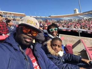 Marion attended 2019 First Responder Bowl: Western Kentucky Hilltoppers vs. Western Michigan Broncos on Dec 30th 2019 via VetTix