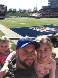 Anthony attended 2019 First Responder Bowl: Western Kentucky Hilltoppers vs. Western Michigan Broncos on Dec 30th 2019 via VetTix