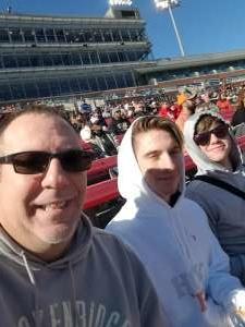 Brandon attended 2019 First Responder Bowl: Western Kentucky Hilltoppers vs. Western Michigan Broncos on Dec 30th 2019 via VetTix