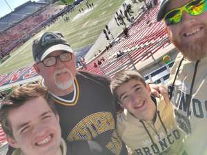 John attended 2019 First Responder Bowl: Western Kentucky Hilltoppers vs. Western Michigan Broncos on Dec 30th 2019 via VetTix