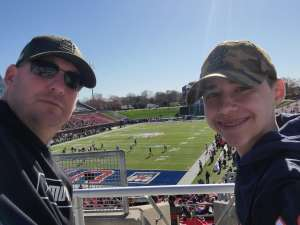 Tommy attended 2019 First Responder Bowl: Western Kentucky Hilltoppers vs. Western Michigan Broncos on Dec 30th 2019 via VetTix