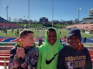 John attended 2019 First Responder Bowl: Western Kentucky Hilltoppers vs. Western Michigan Broncos on Dec 30th 2019 via VetTix