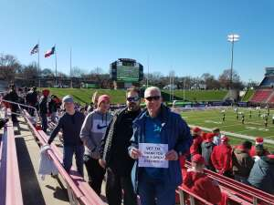 Robert attended 2019 First Responder Bowl: Western Kentucky Hilltoppers vs. Western Michigan Broncos on Dec 30th 2019 via VetTix