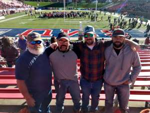 Keith attended 2019 First Responder Bowl: Western Kentucky Hilltoppers vs. Western Michigan Broncos on Dec 30th 2019 via VetTix