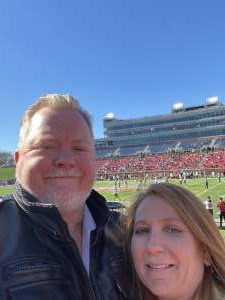 Russell attended 2019 First Responder Bowl: Western Kentucky Hilltoppers vs. Western Michigan Broncos on Dec 30th 2019 via VetTix