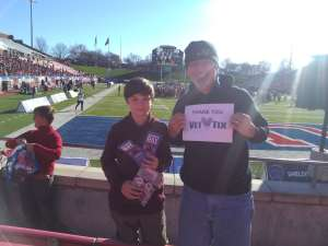 Bryon attended 2019 First Responder Bowl: Western Kentucky Hilltoppers vs. Western Michigan Broncos on Dec 30th 2019 via VetTix