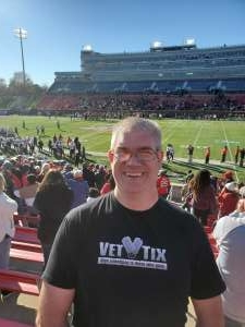 Brian attended 2019 First Responder Bowl: Western Kentucky Hilltoppers vs. Western Michigan Broncos on Dec 30th 2019 via VetTix