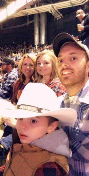 Dustin attended PBR - Unleash the Beast - Cooper Tire Take the Money and Ride: Round 1 - Saturday Only on Oct 19th 2019 via VetTix