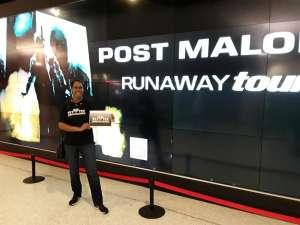 Cynthia attended Post Malone - Runaway Tour on Oct 21st 2019 via VetTix