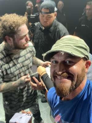 Josh attended Post Malone - Runaway Tour on Oct 21st 2019 via VetTix
