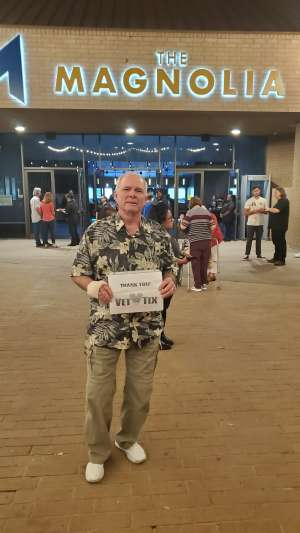 Craig attended Engelbert Humperdinck on Oct 23rd 2019 via VetTix